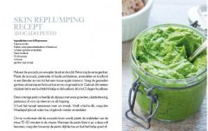 recept avocado pesto